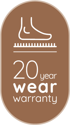 USP : Invictus : 20 year wear warranty