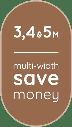 USP : Invictus : save money multi-width