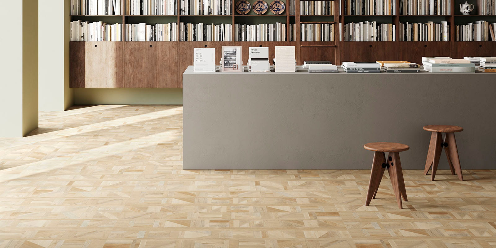 Invictus® Luxury Vinyl Flooring - Designers Parquet - Queen - Comm_retail