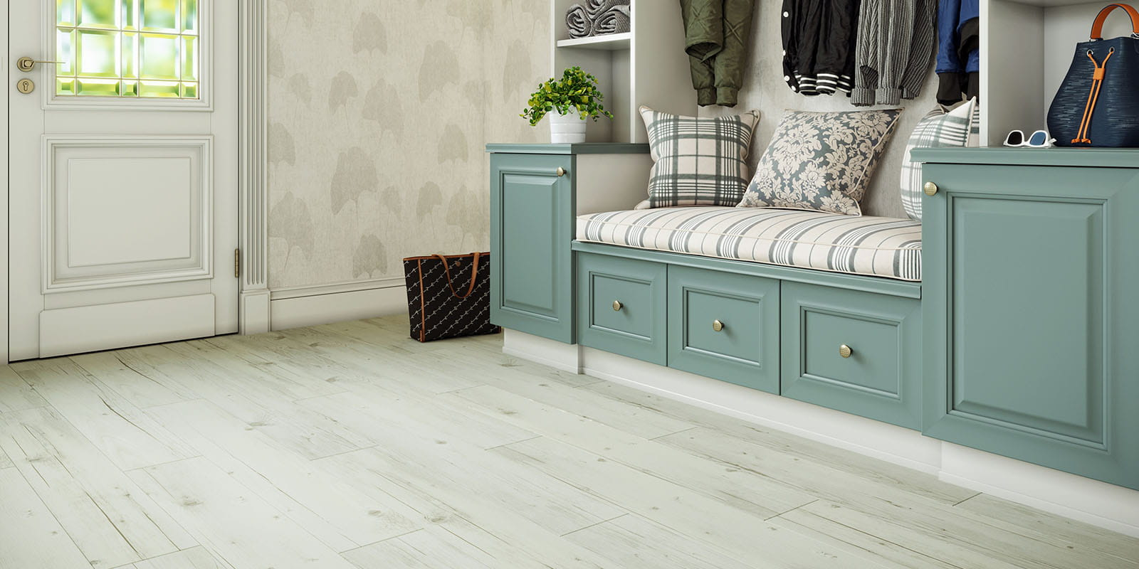Invictus® Luxury Vinyl Flooring - Norwegian Wood - Arctic - Hallway
