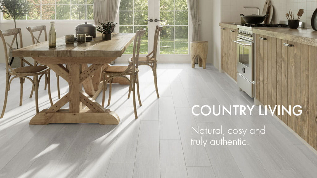 COUNTRY LIVING : Natural, cosy and truly authentic.