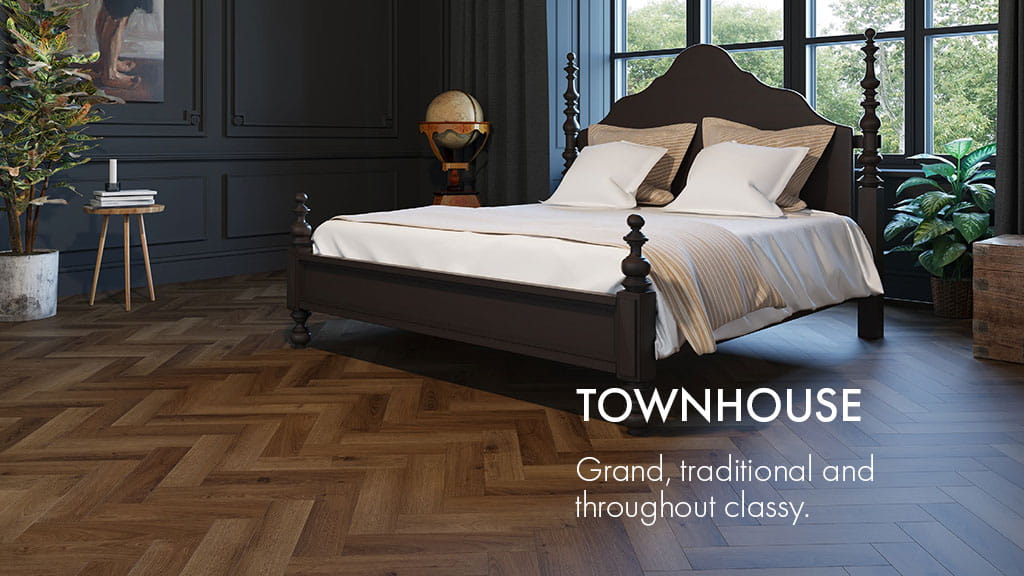 TOWNHOUSE : Grand, traditional and throughout classy.